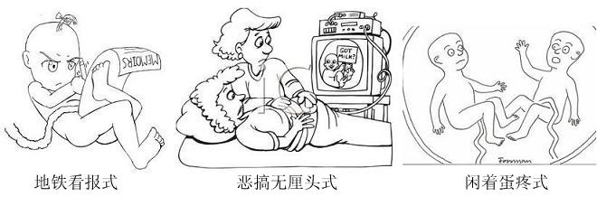 婴儿子宫结构图