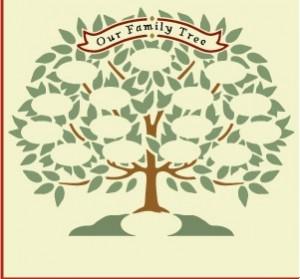 家谱树——在树枝上加