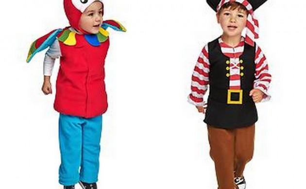 万圣幼儿服装新搭配