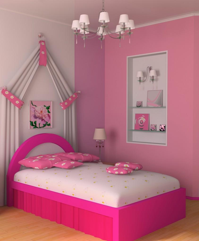 看看这个房间,是不是真的像公主的房间