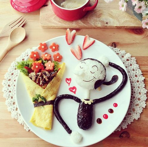 超赞的创意早餐!妈妈一定要学会 宝宝会很幸福的!