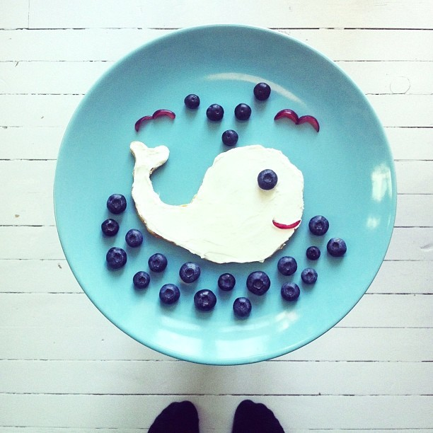 给宝贝的创意早餐 - ☆星语心愿☆ - ☆星空下的天使☆
