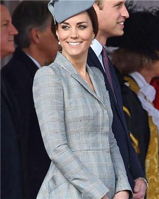 凯特王妃再传喜讯 确认已孕14周