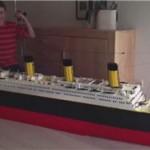 腻害了!自闭男孩打造巨型泰坦尼克号模型
