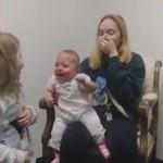 戴上助听器的那一刻,孩子笑了妈妈却哭了