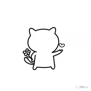 儿童简笔画之小猫咪