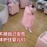 感动!地震瞬间,护士临危不惧,用身体守护小北鼻