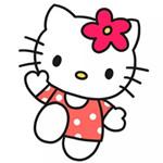 儿童简笔画之Hello Kitty
