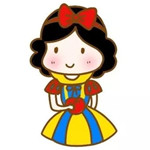 儿童简笔画之白雪公主