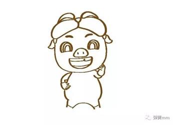资讯首页  图片新闻 儿童简笔画之猪猪侠  (原创作品,版权所有.