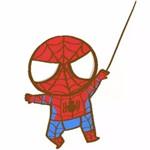 儿童简笔画之蜘蛛侠