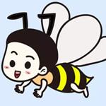 儿童简笔画之勤劳的小蜜蜂