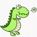 儿童简笔画之小恐龙