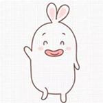 儿童简笔画之香肠嘴兔子