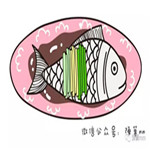 儿童简笔画之红烧鱼