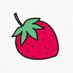 儿童简笔画之小草莓