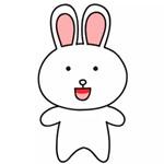 儿童简笔画之可妮兔