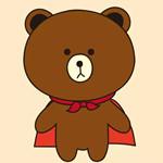 儿童简笔画之布朗熊