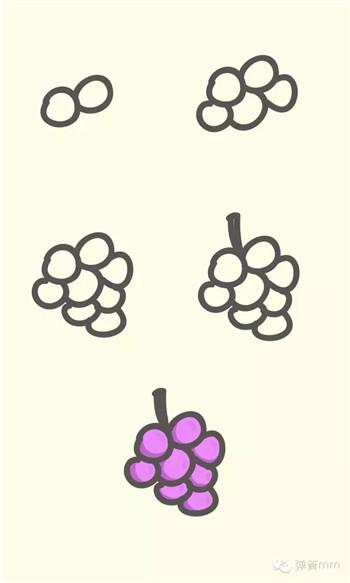 儿童简笔画之水果系列