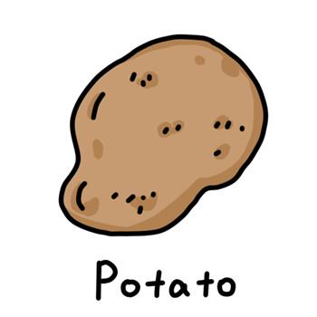 儿童简笔画之土豆