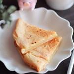 外酥里糯的烤年糕,不发面不揉面,做法超简单!