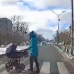 司机醉驾撞飞婴儿车,万幸小宝宝仅受轻伤