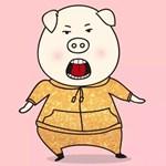 再刷《欢乐好声音》,画了一只萌猪