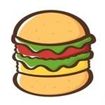 儿童简笔画之汉堡