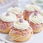 紫薯酥皮泡芙,适合夏天的仙气下午茶~