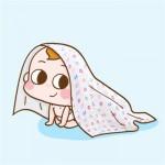 宝宝睡空调房冷不冷?摸摸这里就知道啦