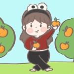 儿童简笔画之摘橘子