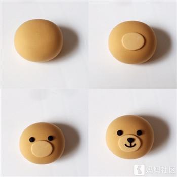 """手工黏土""""月亮上的小熊"""",陪娃一起做好梦"""