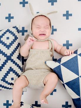 热热热,宝宝空调房睡觉怎么穿