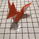 亲子趣味折纸—可爱的小狐狸,  简单易学哦~