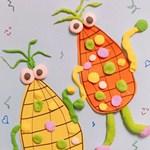 趣味手工:跳舞的玉米人