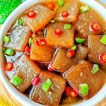 零失败的红烧魔芋豆腐,好吃又廋身!