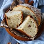 碧根果葡萄干面包,早餐吃它活力一整天!