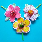 六一儿童节,做一朵棒棒糖花朵
