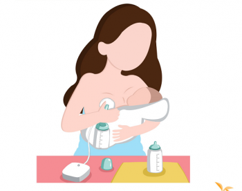 给孩子喂奶,家属不懂得回避怎么办?