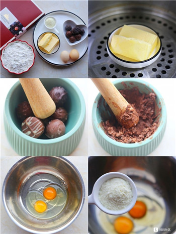 巧克力麻薯包,外酥里弹,简单又好吃!