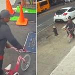 连孩子都不放过!男子抢走十龄童手机和儿童车